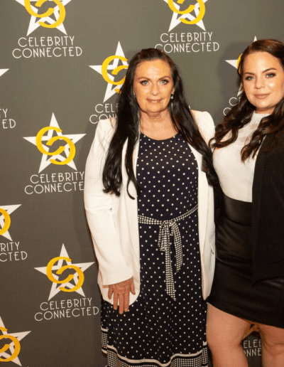 Belinda and Kerrie attending the Celebrity Connected event at the Millennium Biltmore Hotel in Los Angeles honouring the 70th Emmys September 2018.